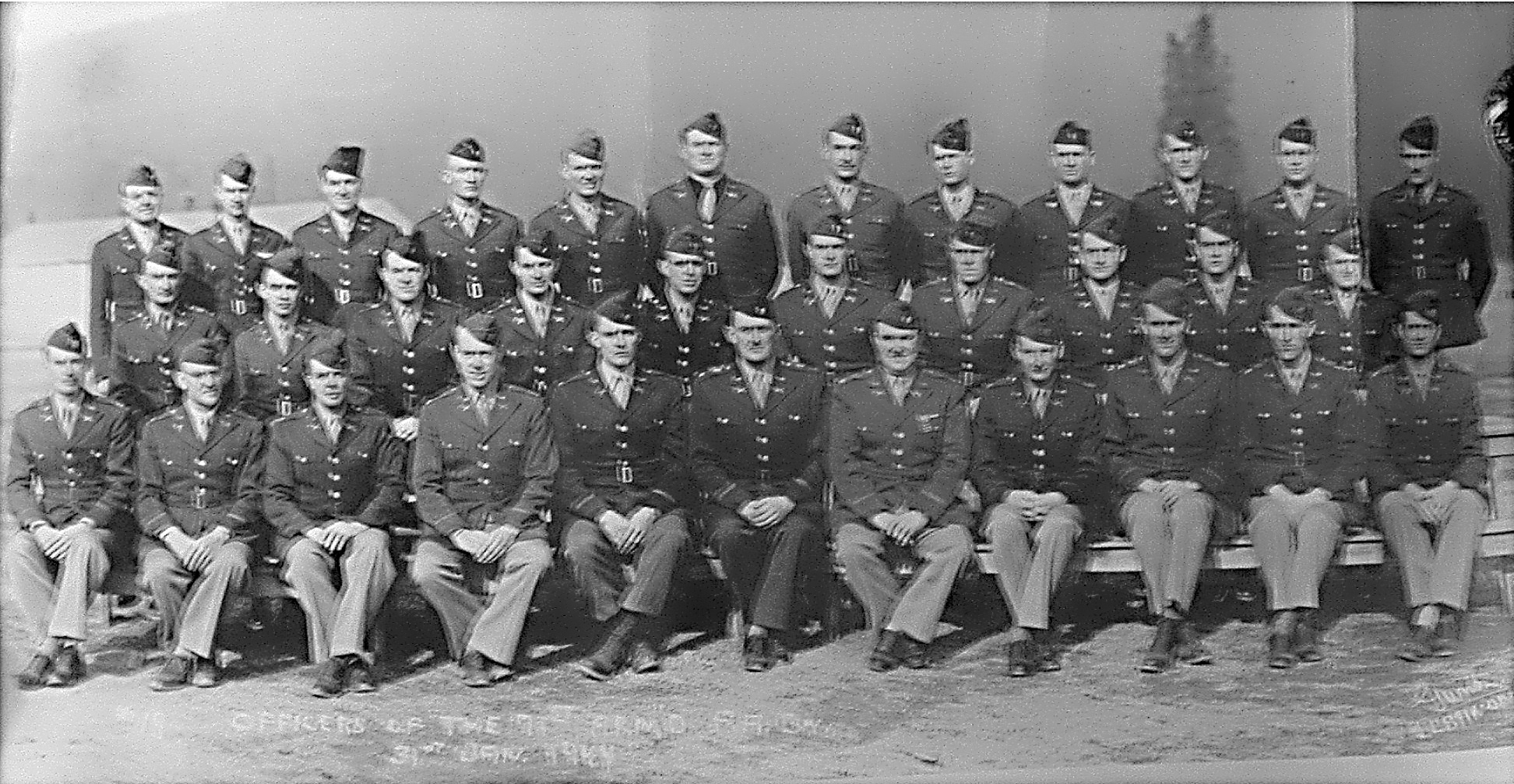 Officers of the 71st AFA
